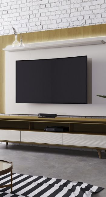TV Stand and Panel